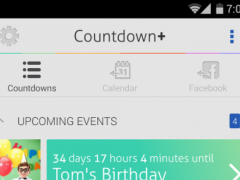 Countdown Plus Widgets Lite 1.4.0 Screenshot
