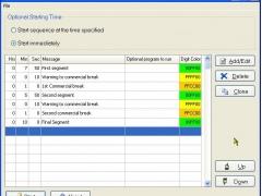 Countdown Sequencer 1.0 Screenshot