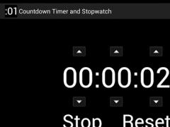 Countdown Timer and Stopwatch 4.1 Screenshot