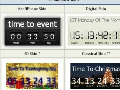 CountDown Timer in Flash for Website 2.5.3 Screenshot