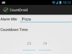 CountDroid 1.0 Screenshot