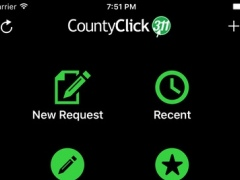 CountyClick311 3.16.12 Screenshot