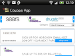 Coupon app 1.0 Screenshot