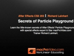 Course For After Effects Secrets of Particle Playground 1.1 Screenshot