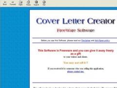 Cover Letter Creator 1.0.0 Screenshot