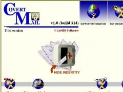 CovertMail 2.0.384 Screenshot