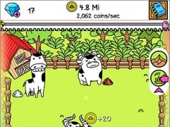 Review Screenshot - Clicker Game – Have Fun Evolving Cows!