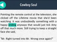 Cowboy Soul: love story hidden words game 1.1 Screenshot