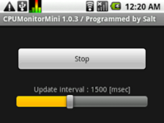 CPU Monitor Mini 1.0.3 Screenshot