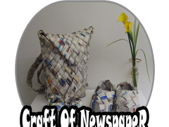 Craft Of Newspaper DIY 1.0 Screenshot
