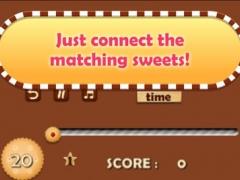 Crazy Cookie Sweet Shop - Match that Puzzle! 1.1 Screenshot