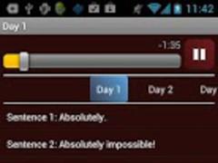 Crazy English: Daily practice 2.4 Screenshot