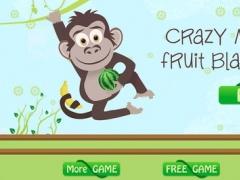 Crazy Monkey Fruit Blast Island - best bubble matching game 1.4 Screenshot