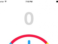 Crazy Spin Colors : impossible rotating dial for brain reflex challenge 1.0 Screenshot