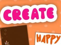 Create birthday cards 16.07.04 Screenshot