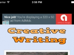 Creative Writing Tips # Tips For Writing Stories, Novels and Books 1.0 Screenshot
