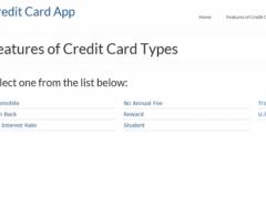 Credit Card Canada 1.0 Screenshot
