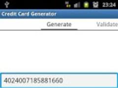 Credit / Debit Card Generator 1.0.1 Screenshot