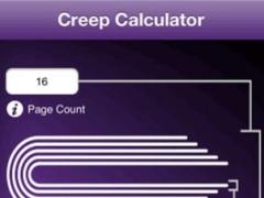 Creep/Shingling Calculator 1.01 Screenshot