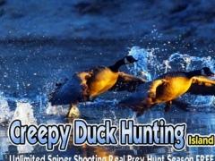 Creepy Duck Hunting Island Pro - Unlimited Sniper 2.0.1 Screenshot