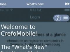 CrefoMobile 1.4.7 Screenshot