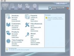 Cretica Invoice Free Edition 4.0.620 Screenshot