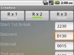 Crew Rest 2.3 Screenshot