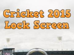 Cricket 2015 Lock Screen 1.1 Screenshot