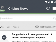 Cricket News - Cricket 24h 2.2.8 Screenshot