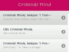 Criminal Mind TV Drama Video 1.2 Screenshot