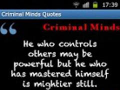 Criminal Minds Quotes 1.1 Screenshot