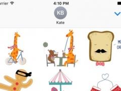 Croc & Friends - Redbubble sticker pack 1.0 Screenshot