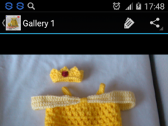 Crochet Pattern Baby Dress 1.3 Screenshot