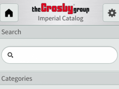 Crosby Catalog 1.2.0 Screenshot