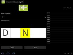 Crossword Dictionary (German) 2.9.0 Screenshot