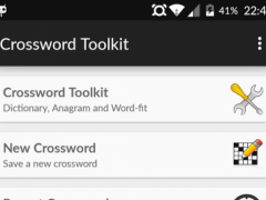 Crossword Toolkit 1.07 Screenshot