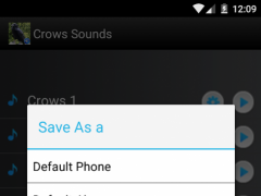 Crows Sounds Ringtones 2.0 Screenshot