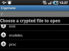 Cryptnote 1.1.1 Screenshot