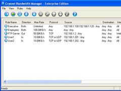 Crysnet Bandwidth Manager 1.0 Screenshot