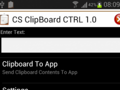 CS Clipboard CTRL 1.0 1.0 Screenshot