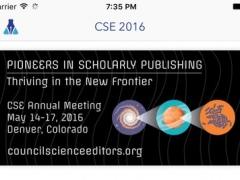 CSE 2016 - Council of Science Editors Annual Meeting 2.0.3 Screenshot