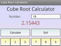 Cube Root Calculator 3.1 Screenshot