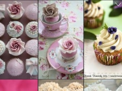 Cupcakes Wallpapers - Sweet Decorated Desserts 1.0.3 Screenshot