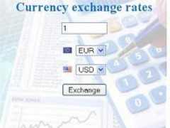 Currency exchage rates 0.19.13159.39319 Screenshot