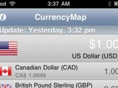 CurrencyMap Gold 0.9.0 Screenshot