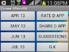 Current Affairs, GK 2013-2014 1.8.7 Screenshot