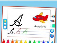 Cursive writing capital letters free free download cursive writing capital letters free kids learn to write uppercase alphabets and shapes 10 screenshot expocarfo