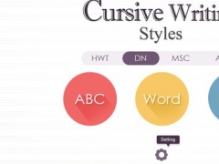 Cursive Writing Styles 1.4 Screenshot