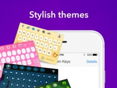 Custom Keys - keyboard with fancy emoji and free cool fonts 1.1.3 Screenshot