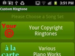Custom Ringtone 3.0 Screenshot